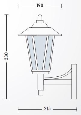 градинска лампа