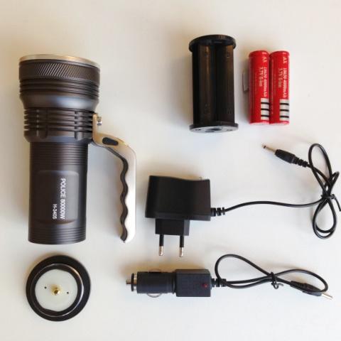 LED Фенер акумулаторен