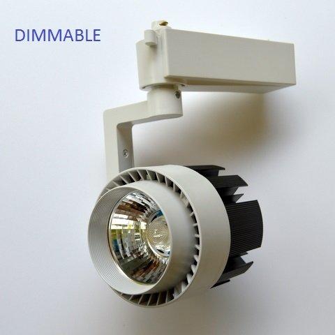 Опция за димиране на 20W Релсов прожектор
