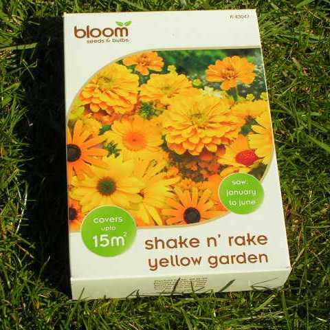 Жълти градински цветя