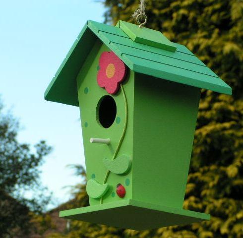 Градинска Украса Къщичка за птици